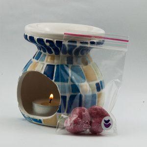 Vzorka zadarmo - Vonný vosk - Dodie's - Divoká čerešňa - aromalampa použitie