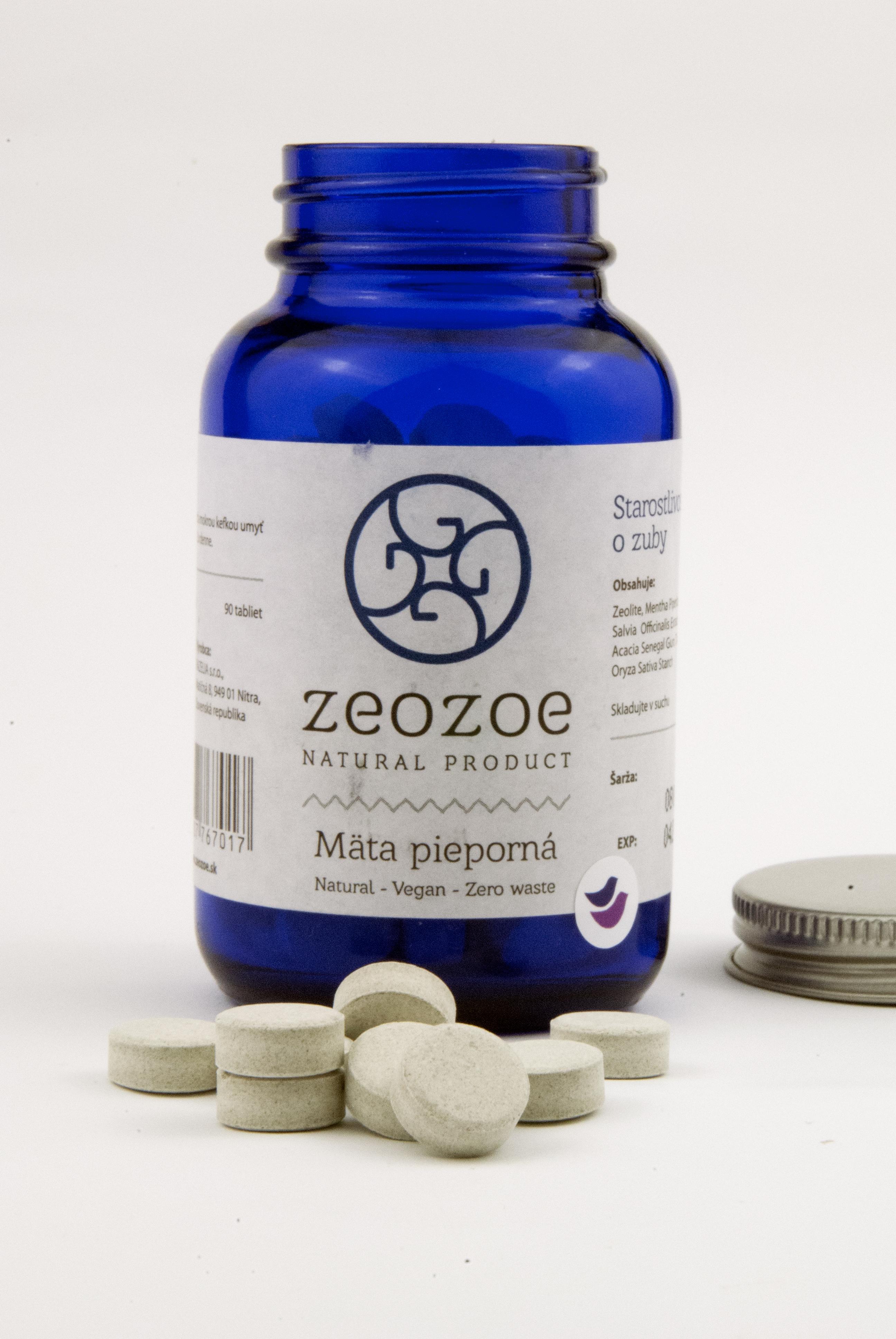 ZeoZoe zubné tablety recenzia, skúsenosti