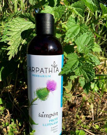 šampón proti lupinám Carpathia Herbarium recenzia