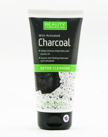 Beauty Formulas Charcoal Detox Cleanser čistiaci gél s aktívnym uhlím recenzia skúsenosti