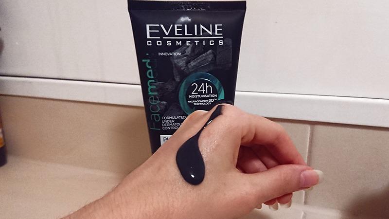 eveline cosmetics čistiaci gél s aktívnym uhlím skúsesnoti