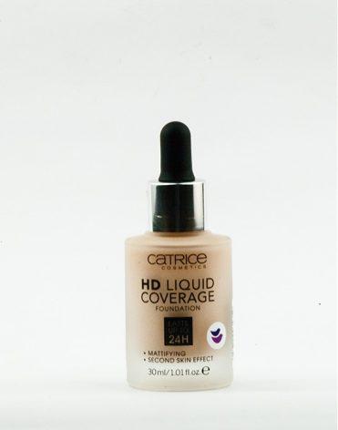Vysokokrycí makeup Catrice HD Liquid Covarage recenzia, skúsenosti
