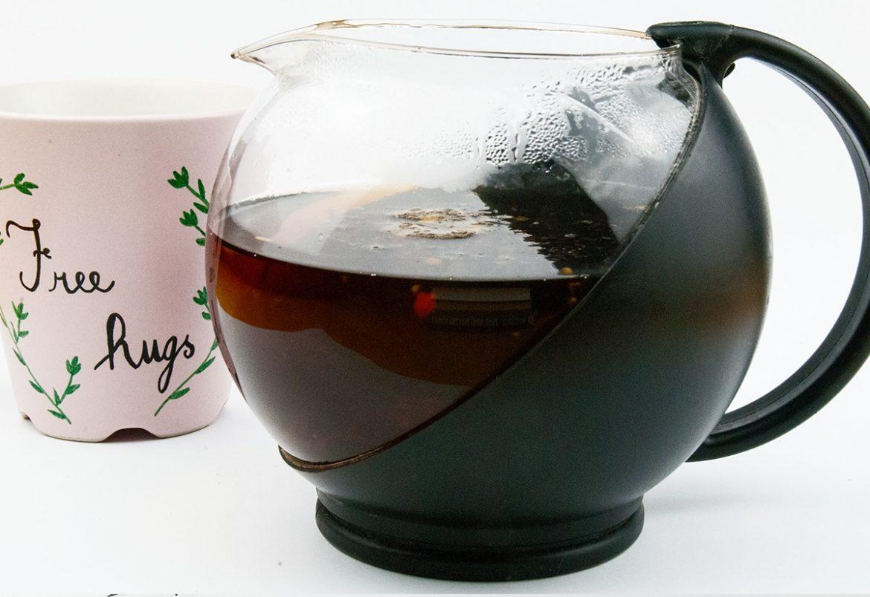 ako čierny čaj je dobrý ? - čo obsahuje