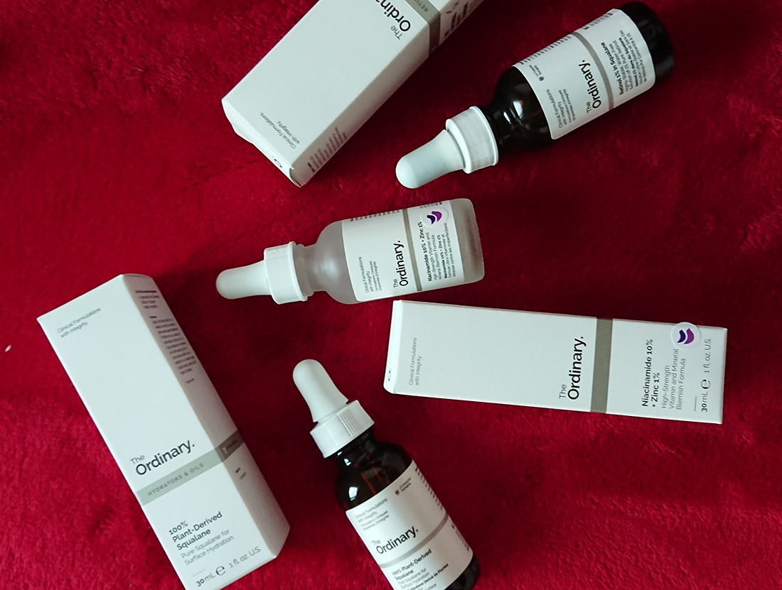the ordinary retinol squalan niacinamid