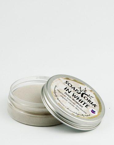 Soaphoria In White – dámsky organický krémový dezodorant recenzia