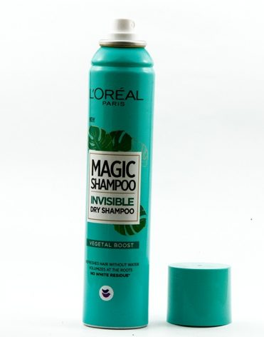 Suchý šampón – L´Oreal Paris – Magic Shampoo Invisiblie Dry Shampoo – Vegetal Boost - recenzia