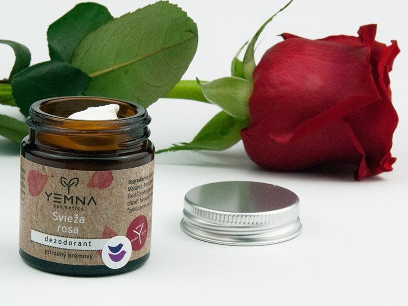 Yemna kozmetika recenzia na deodorant