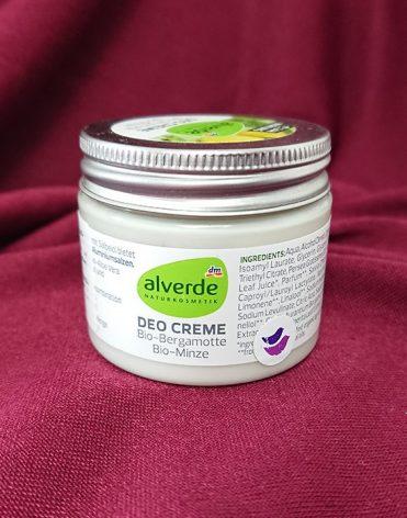 Alverde Naturkosmetik krémový dezodorant bergamot a mäta recenzia