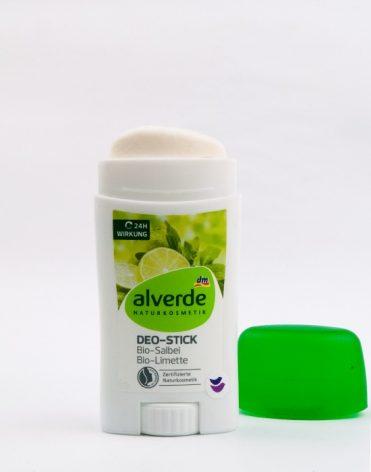 Alverde Naturkosmetik deodorant bez hliníka Šalvia a Limetka - recenzia, skúsenosti