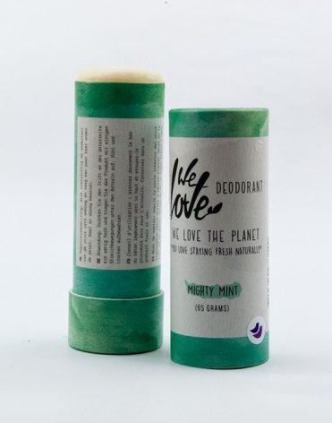 We Love The Planet prírodný dezodorant Mighty Mint - recenzia, skúsenosti