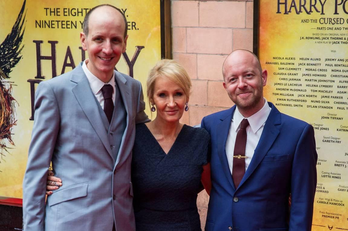 J.K. Rowling, Jack Thorne a John Tiffanyautor