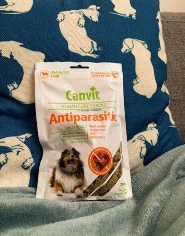 Canvit Snacks Anti-Parasitic 200 g recenzia, skúsenosti