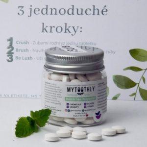 MyToothly zubné tablety bez flouridu vzorka zdarma