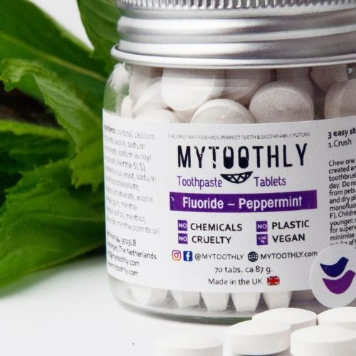 MyToothly zubné tablety s flouridom