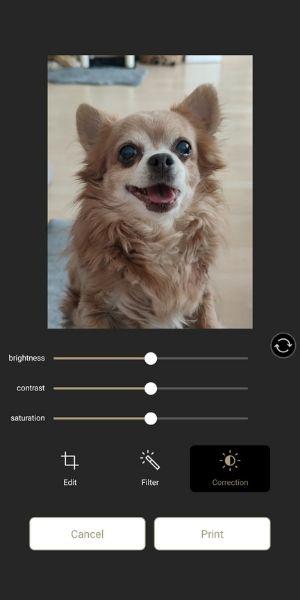 fuji instax - aplikácia na úpravu fotiek