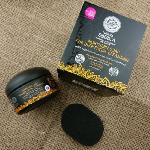 Čierne detoxikačné mydlo Natura Siberica - recenzia